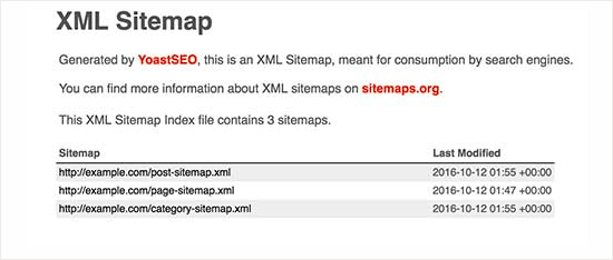 Add XML sitemap in WordPress