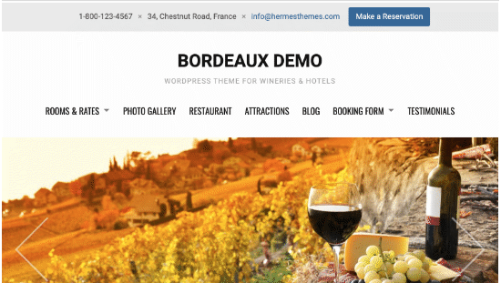 Bordeaux Theme