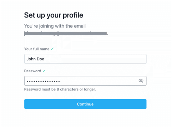 Set up your Asana profile