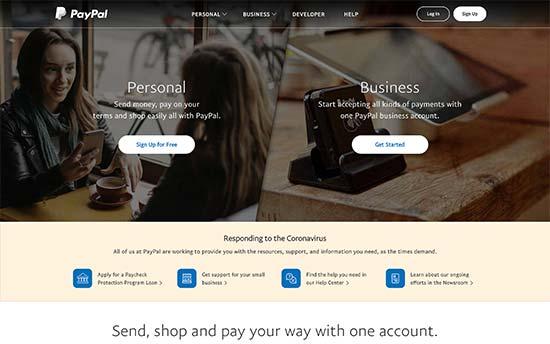 PayPal Pro