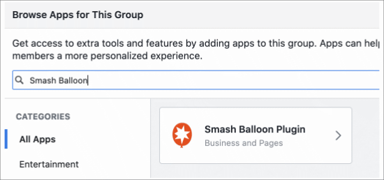 Find the Smash Balloon app