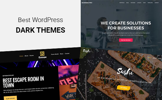 Best Dark WordPress Themes