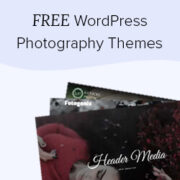 44 Best Free WordPress Photography Themes (Expert Pick)