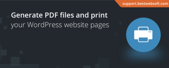 PDF e stampa di bestwebsoft