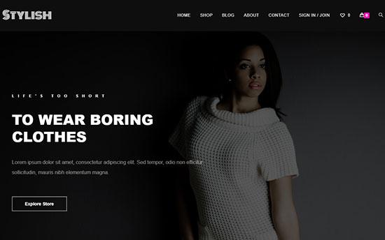 OceanWP Fashion Blog theme