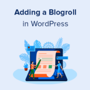 How to Add a Blogroll in WordPress