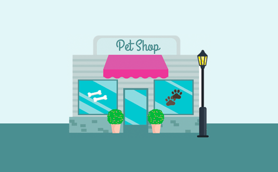Pet shop website